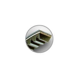COURROIES AUTOMOBILES AVX13 / 12,5x10 mm