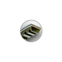 COURROIES TRAPEZOIDALES AVX10 / 9,5x8 mm