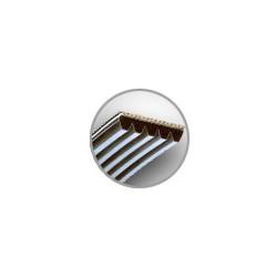 COURROIES STRIEES PM - PAS 9,4 mm