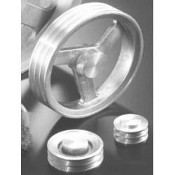 POULIES TRAP Z / SPZ / XPZ (10 mm) ALUMINIUM BRUT