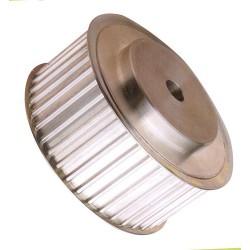 POULIES  PROFIL T2,5 (Pas : 2,5 mm) ALUMINIUM