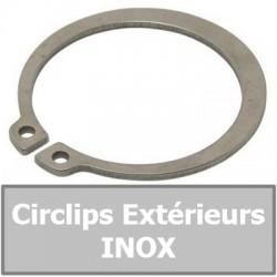 CIRCLIPS EXTERIEURS INOX