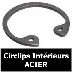 CIRCLIPS INTERIEURS ACIER